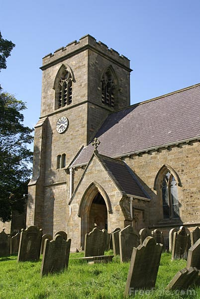 Picture of Saint Chad's Church, Middlesmoor - Free Pictures - FreeFoto.com