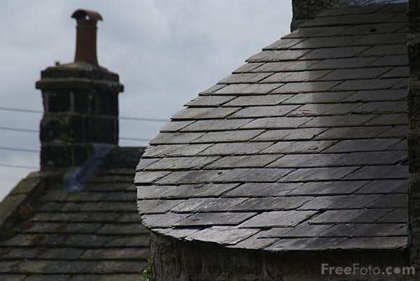 Picture of Tiled Roof - Free Pictures - FreeFoto.com