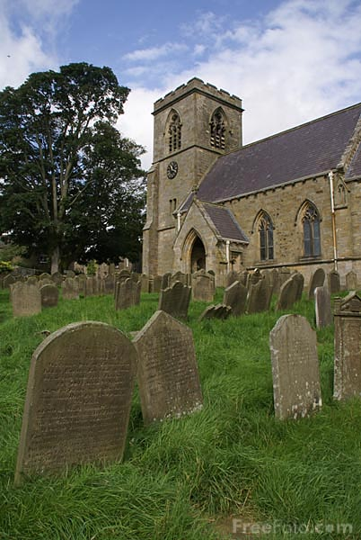 Picture of Middlesmoor Church - Free Pictures - FreeFoto.com
