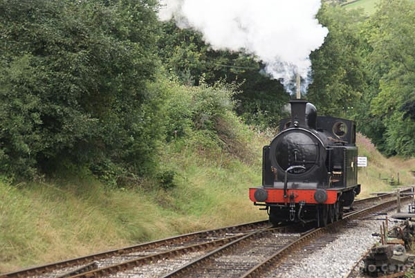 Picture of Taff Vale Railway steam locomotive 0-6-2 number 85 - Free Pictures - FreeFoto.com