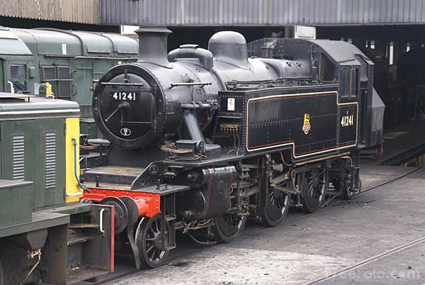 LMS Ivatt class 2 2-6-2 steam locomotive 41241 pictures, free use ...