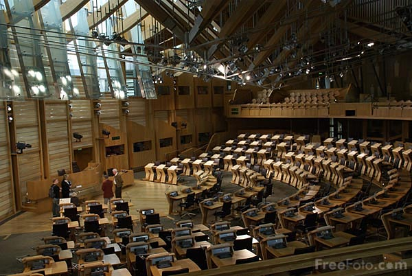 Picture of The Scottish Parliament - Free Pictures - FreeFoto.com