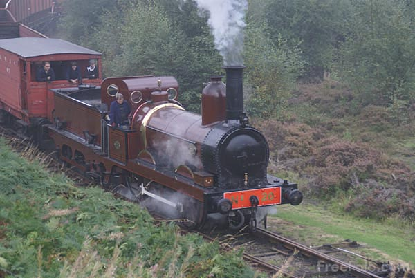 Picture of Sharp Stewart 0-4-0 Furness Railway No. 20 - Free Pictures - FreeFoto.com
