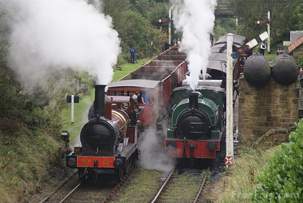 Picture of Andrews House station on the Tanfield Railway - Free Pictures - FreeFoto.com