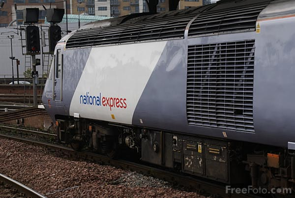 Picture of National Express East Coast NXEC train service - Free Pictures - FreeFoto.com