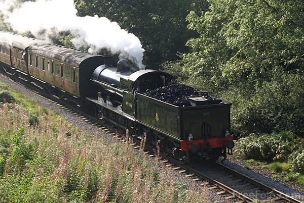 Picture of LNWR Super D class G2 0-8-0 steam locomotive 49395 - Free Pictures - FreeFoto.com