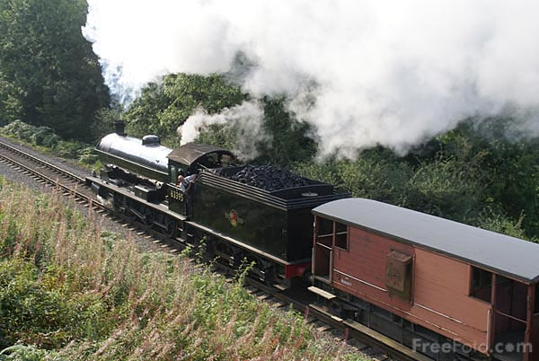 Picture of NER class Q6 0-8-0 steam locomotive 63395 - Free Pictures - FreeFoto.com