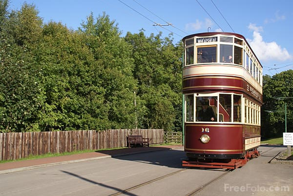 Picture of Sunderland tram Number 16 - Free Pictures - FreeFoto.com