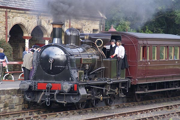 Picture of Haydock Foundry 0-6-0WT Bellerophon at Beamish Museum - Free Pictures - FreeFoto.com