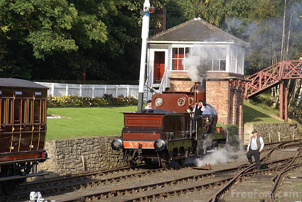 Picture of Sharp Stewart 0-4-0 Furness Railway No. 20 at Beamish Museum - Free Pictures - FreeFoto.com