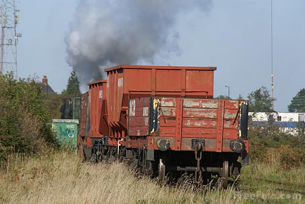 Picture of Sir Cecil A Cochrane hauling a coal train on the Bowes Railway, - Free Pictures - FreeFoto.com