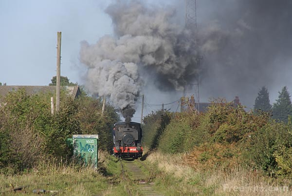 Picture of Andrew Barclay 0-4-0 saddle tank number 22 - Free Pictures - FreeFoto.com