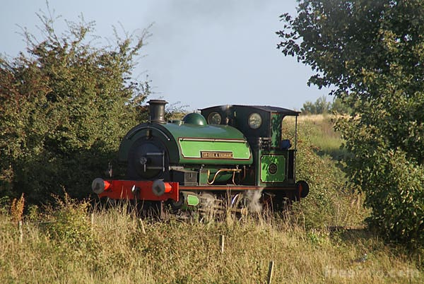 Picture of 0-4-0ST Sir Cecil A Cochrane on the Bowes Railway, Springwell - Free Pictures - FreeFoto.com