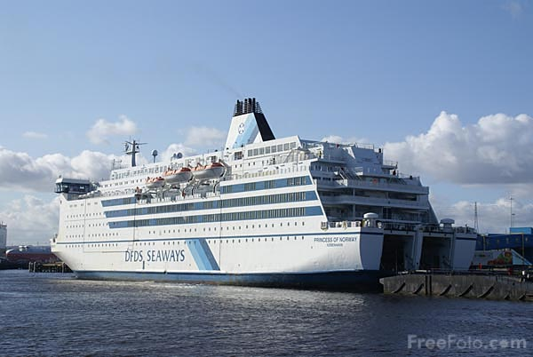 Picture of DFDS Seaways cruise ferry MS Princess of Norway - Free Pictures - FreeFoto.com