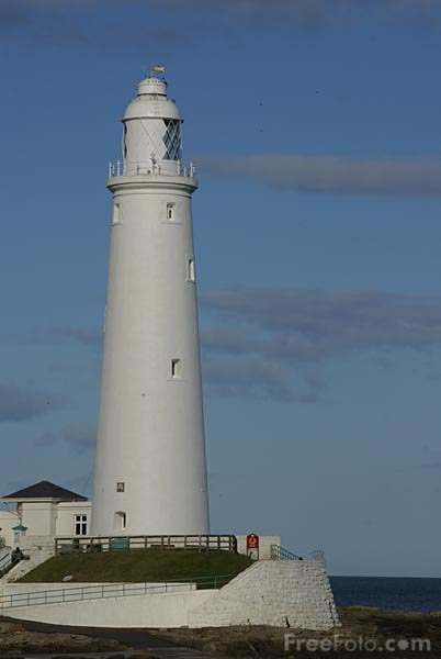 Picture of St. Mary's Lighthouse Whitley Bay - Free Pictures - FreeFoto.com