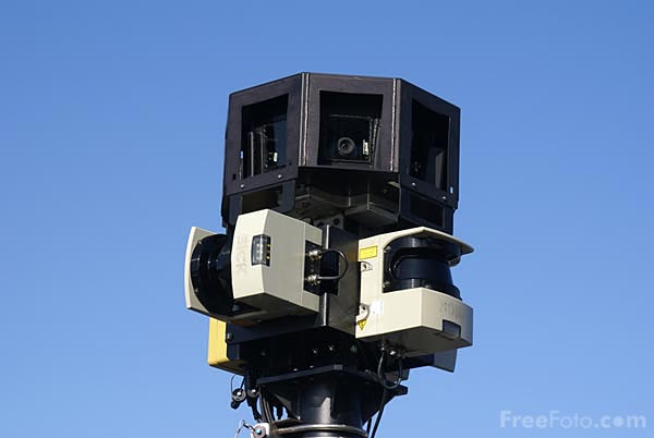 Picture of Google Maps Street View Camera - Free Pictures - FreeFoto.com