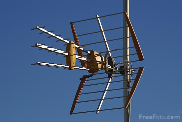 Picture of Television Aerial - Free Pictures - FreeFoto.com