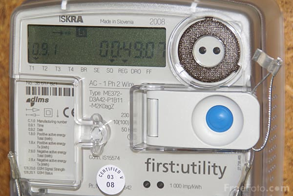 Picture of Smart Electricity Meter - Free Pictures - FreeFoto.com