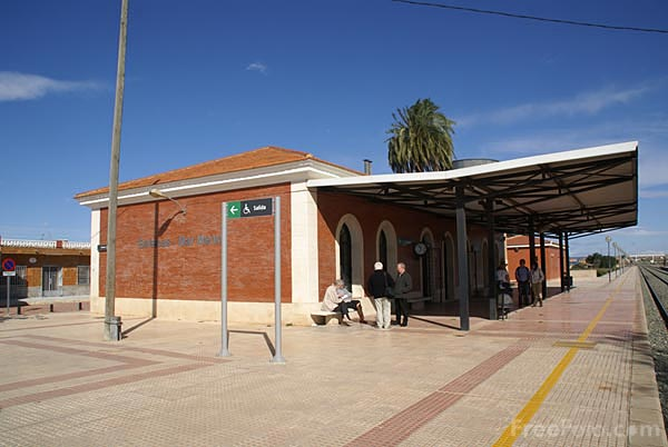 Picture of Balsicas Railway Station - Free Pictures - FreeFoto.com