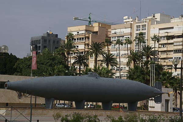 Picture of Submarino Peral, Peral Submarine, Cartagena, Spain - Free Pictures - FreeFoto.com