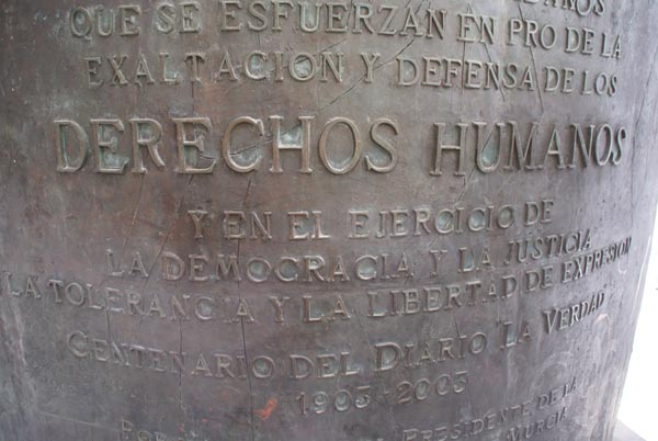 Picture of Monumento de Derechos Humanos Human Rights Monument Murcia - Free Pictures - FreeFoto.com