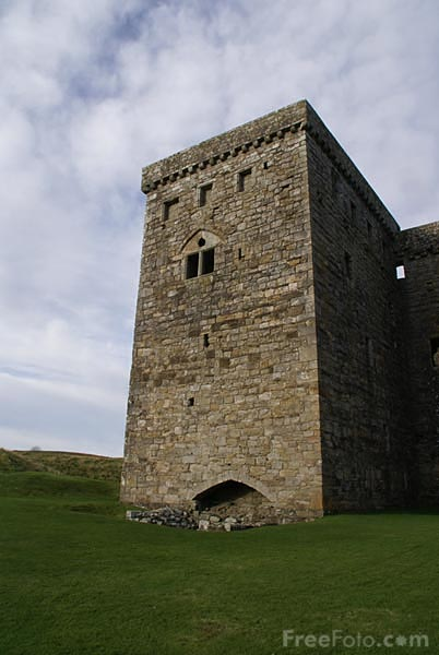 Picture of Hermitage Castle - Free Pictures - FreeFoto.com