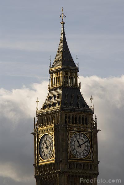 Picture of The houses of parliament - Free Pictures - FreeFoto.com