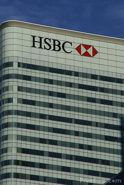Picture of HSBC Tower, Canary Wharf, London - Free Pictures - FreeFoto.com