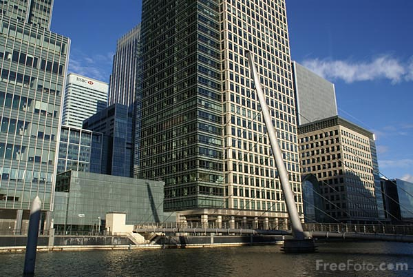 Picture of Heron Quays, West Canary Wharf - Free Pictures - FreeFoto.com