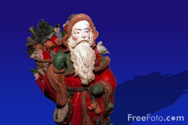 Picture of santa claus - Free Pictures - FreeFoto.com