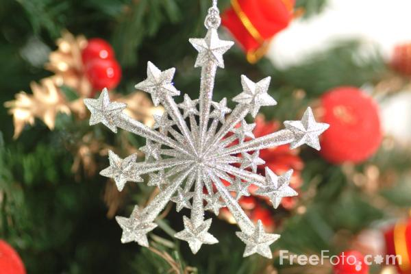 Picture of Christmas Decorations - Free Pictures - FreeFoto.com