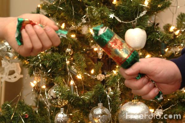 Picture of Christmas Cracker - Free Pictures - FreeFoto.com