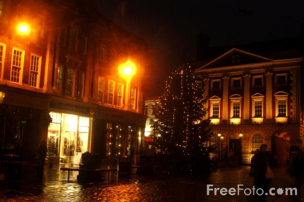 Picture of York at Christmas - Free Pictures - FreeFoto.com