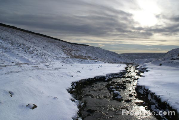 Picture of Snow covered Yorkshire Dales - Free Pictures - FreeFoto.com