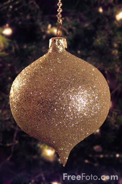 Picture of Christmas Tree Decorations - Free Pictures - FreeFoto.com