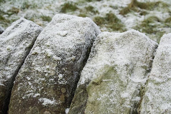 Picture of Snow covered rock - Free Pictures - FreeFoto.com