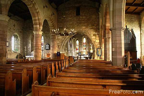 Picture of St Mary the Virgin Church, Holy Island of Lindisfarne - Free Pictures - FreeFoto.com