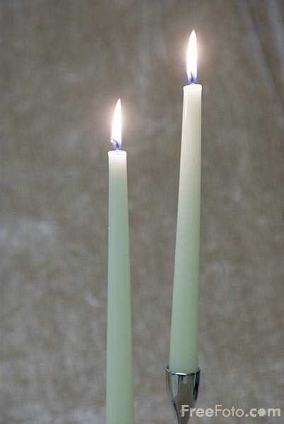 Picture of Candles - Free Pictures - FreeFoto.com