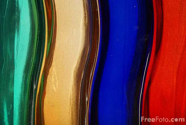 Picture of Coloured Glass - Free Pictures - FreeFoto.com