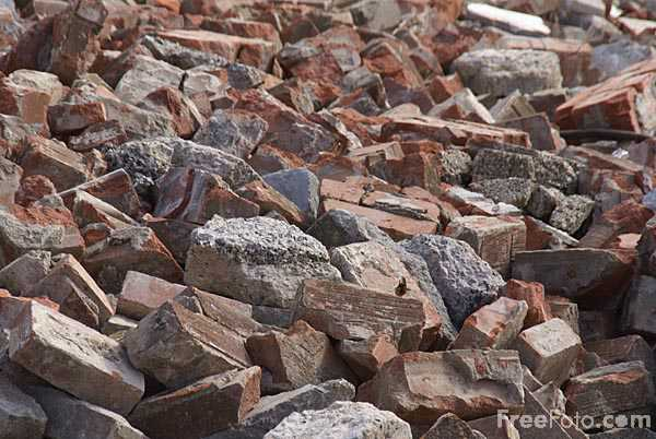 Picture of Rubble - Free Pictures - FreeFoto.com