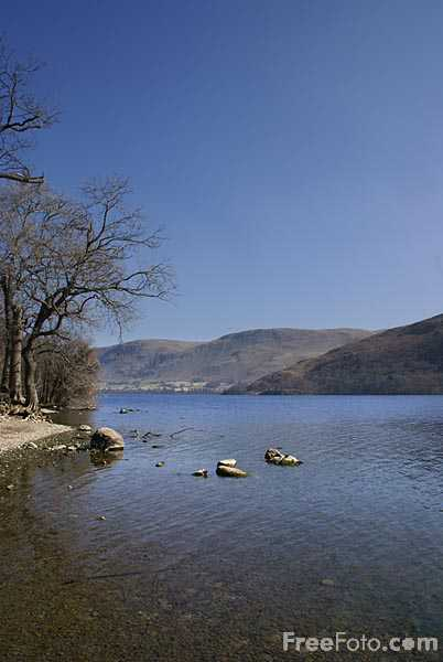 Picture of Ullswater Lake - Free Pictures - FreeFoto.com