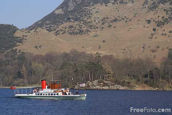 Picture of Ullswater Steamer - Free Pictures - FreeFoto.com
