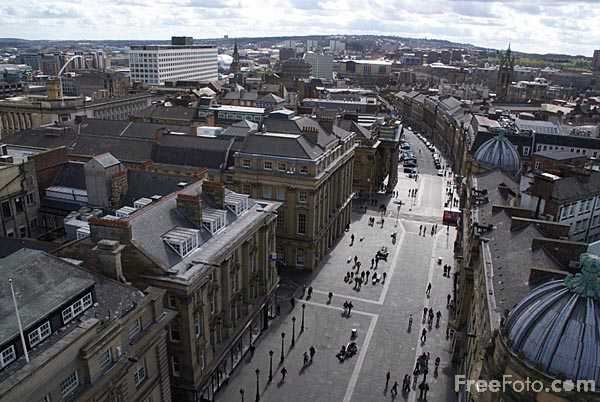 Picture of Grey Street, Newcastle? - Free Pictures - FreeFoto.com