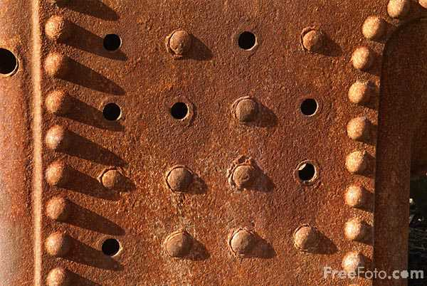 Picture of Rust Covered Bolier - Free Pictures - FreeFoto.com