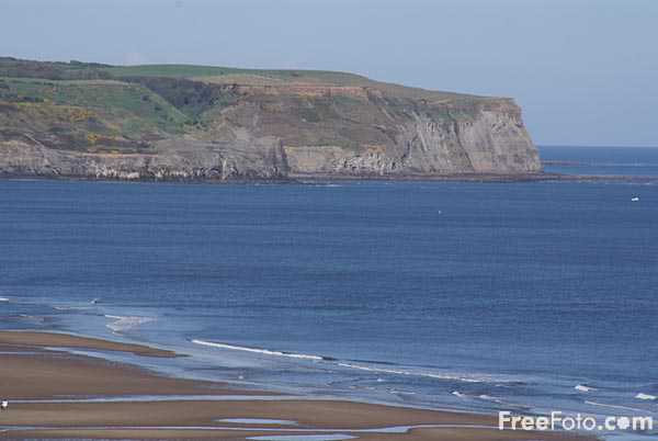 Picture of Coastline, Whitby - Free Pictures - FreeFoto.com