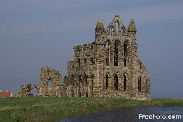 Picture of Whitby Abbey - Free Pictures - FreeFoto.com
