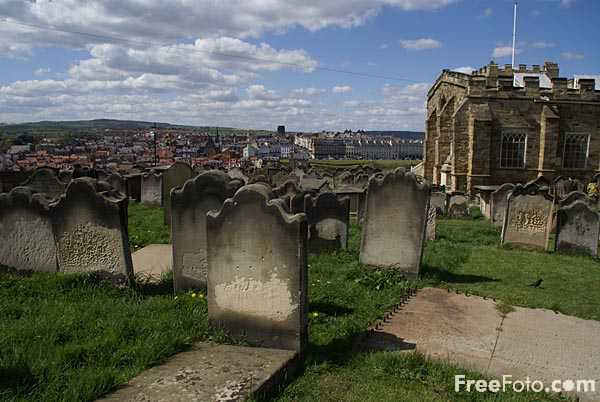 Picture of The Church of St Mary the Virgin, Whitby, - Free Pictures - FreeFoto.com