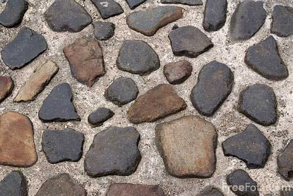 Picture of Street cobbles - Free Pictures - FreeFoto.com