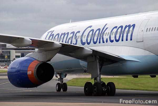 Picture of Thomas Cook Airbus A330 G-MLJL - Free Pictures - FreeFoto.com