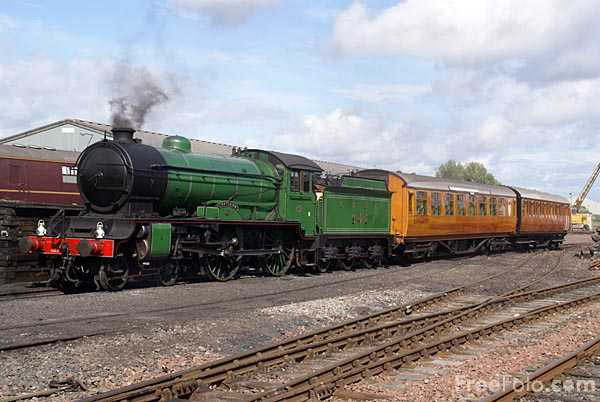 Picture of LNER Class D49 Shire 4-4-0 number 246 Morayshire - Free Pictures - FreeFoto.com